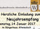Neujahrsempfang des Stadtteilvereins Altwiesloch