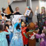Kindergarten St. Marien stürmt das Rathaus Walldorf