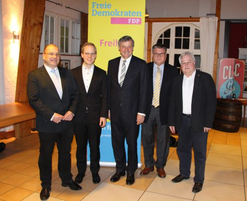 FDP-Kandidat zur Bundestagswahl 2017 im Wahlkreis Rhein-Neckar