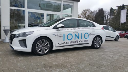 Neue Modelle im autohaus