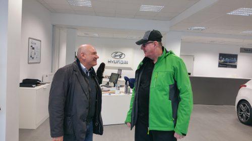 Geschäftsführer Mario Ranaldi (links)