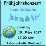 Walldorf: Frühjahrskonzert der Stadtkapelle am 19. März