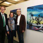 """Walldorf: """"Kunst im Rathaus"""" von Pilar Colino – noch bis 28. April"""