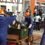 Erfolgreich das Jubiläumsjahr eingeläutet – Jugendfeuerwehr Wiesloch präsentierte sich am Frühlungsmarkt