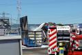 Wiesloch: Brand auf dem Gelände eines Abfallentsorgungs-unternehmens