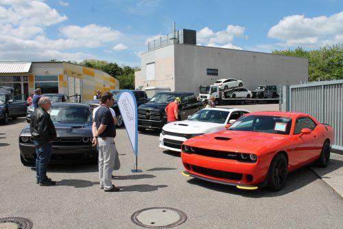 US-Cars bei Autohaus Ranaldi