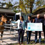 Neue Anlagen für die Jugendarbeit im Tierpark Walldorf eingeweiht