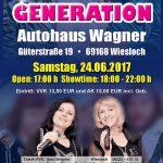 ABBA Generation – die große Kult-schau am 24. Juni im Autohaus-Wagner