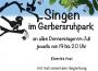Vormerken: Singen im Park –