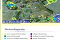 DWD warnt: Örtlich starke, teils unwetterartige Gewitter.