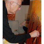 Hospiz Agape mit Kunstausstellung beim Tag der offenen Gärten