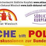 Podiums-Diskussion zur Bundes-Tags-Wahl: Bilde Dir Deine eigene Meinung