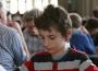 Simultanschach gegen Marco Dobrikov beim Schulfest der Waldschule