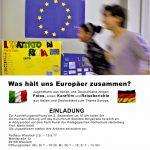 Was hält uns Europäer zusammen – Ausstellung von Jugendlichen