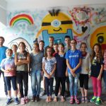Ferienspaß: Graffitis sprayen mit Bürgermeisterin Staab