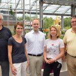 FDP besucht Florapark Wagner in Wiesloch