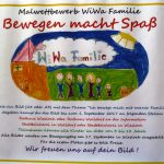 Malwettbewerb zum WiWa Familie-Bewegungstag