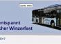 Sonderfahrpläne der SWEG zum Wieslocher Winzerfest 2017