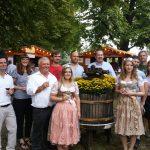 Weindorf auf dem Kurpfälzischen Winzerfest in Wiesloch – Winzer von Baden und Winzer aus der Region