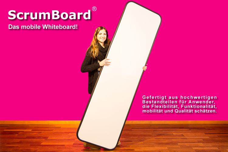 mobiles whiteboard scrumboards die kreativboards. Black Bedroom Furniture Sets. Home Design Ideas
