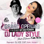 Neueröffnung am 6. Oktober – Club Jackie O in Rauenberg – Opening mit HipHop DJs aus Paris und München