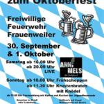 Auf zum Oktoberfest 2017 der Feuerwehr Frauenweiler