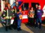 Feuerwehr: Zum Trösten nun Teddybären mit an Board