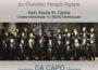 Herzliche Einladung zum Benefizkonzert mit Da Capo am 12.11.