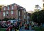 Zimmerbrand auf dem Gelände des PZN