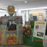 Ausstellung -Spiele des Mittelalters- in der Volksbank Walldorf