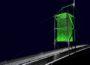 Walldorf: Illumination für die Brücke zum Industriegebiet