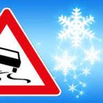 DWD warnt: Verbreitet Frost, Glätte, und Schneefall. Ganz im Norden windig.