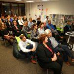 Im Dialog: Gemeinderat Walldorf bei der innoWerft