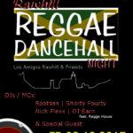 Reggae Night in Rauenberg am Freitag 8.12 im Club Jackie O – Eintritt frei!