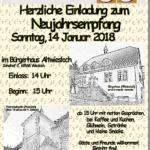 Neujahrsempfang in Altwiesloch