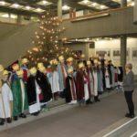 Hoher Besuch im Rathaus Walldorf von den Sternsingern