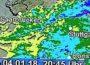 DWD warnt: Dauerregen, teils ergiebig (Unwetter). Windig bis stürmisch, teils Sturmböen bis 80 km/h.