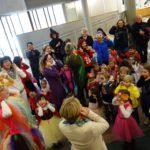 Fasching auch im Rathaus Walldorf – Kindergarten St. Marien bringt bunte gute Laune
