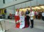 """""""Walldorf Helau"""" bei der Schlüsselrückgabe der KG Astoria-Störche im Rathaus Walldorf"""