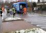 Fahrbahn-Verunreinigungen durch Ölspur