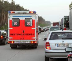 """Kampagne """"Rettungsgasse – rettet Leben"""". Wie geht's!"""