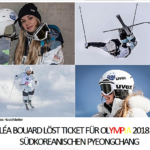 LÉA BOUARD LÖST TICKET FÜR OLYMPIA 2018