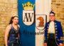 Prinzenpaar Jennifer I und Marcel I bei der Rathaus-Stürmung