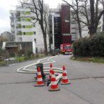 Erheblicher Wasserschaden in der Kurpfalz-Straße