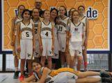 Wild Bees Basketball Sandhausen: U12w Bezirksmeister – Belohnung für eine tolle Saison