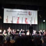 """""""Und immer noch kein bisschen leise …"""" war der Musikverein-Stadtkapelle Walldorf beim Festakt am 17. März"""