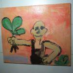 """Ausstellung """"gemalte Bilder"""" von Dirk Klomann im Rathaus Walldorf"""