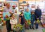 Verlosung der Preise beim Osterhasen-Malwettbewerb des Gewerbevereins Walldorf