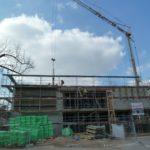 Es tut sich viel beim Neubau am Schulzentrum Walldorf