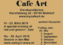 Szenetipp – Café Art Walldorf –  Jazz-Abend mit K.J. Dallaway and Friends